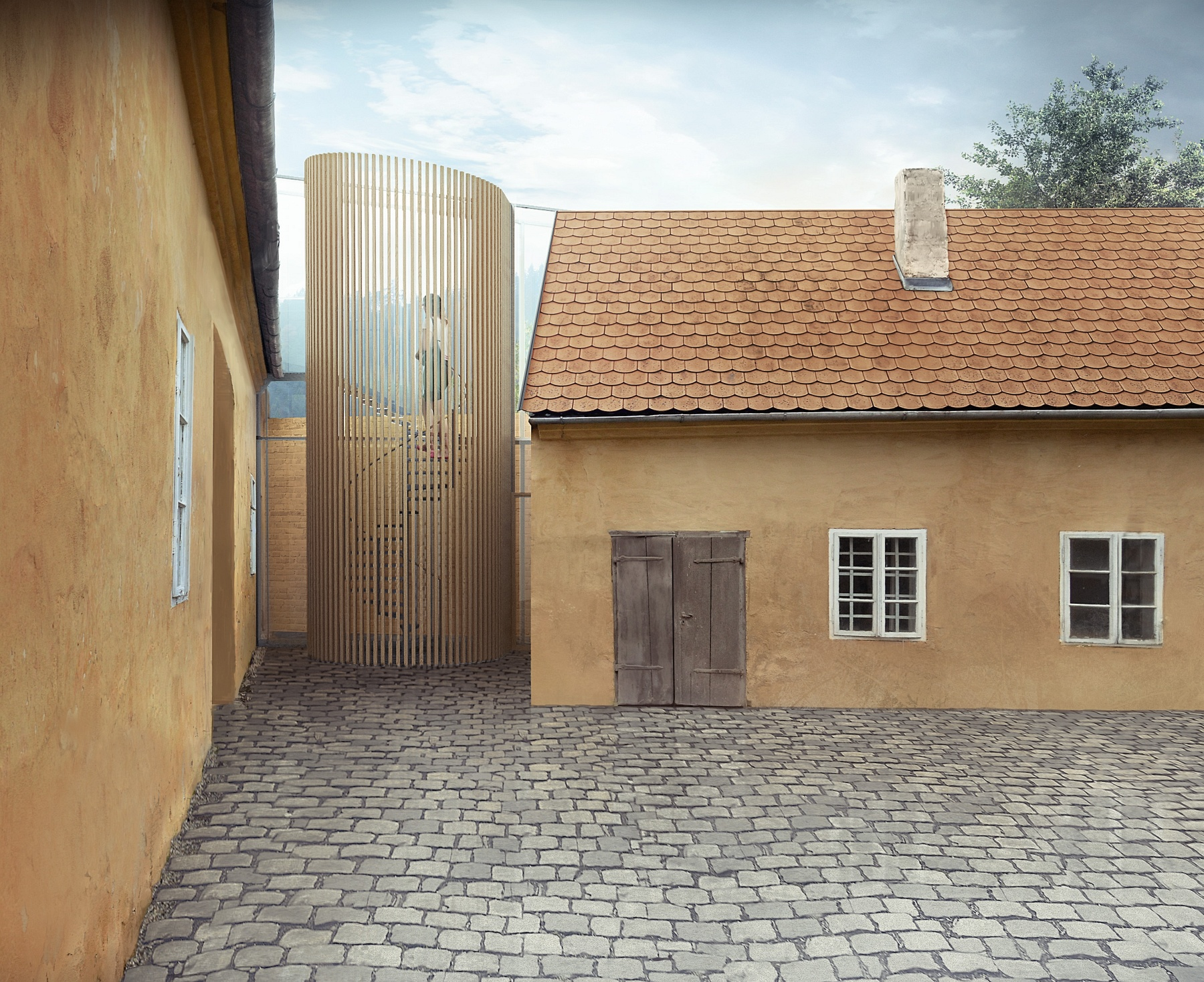 Historical house in Nedvědice renovation
