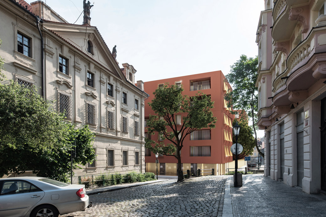 Bytový dům U Milosrdných v Praze