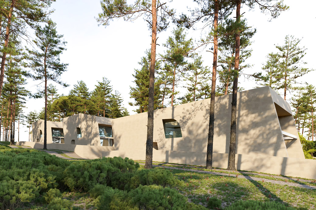 Tři rekreační vily v Chorvatsku