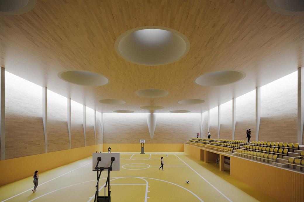 Sportovní hala v Moravanech
