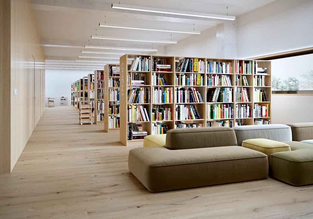 Knihovna v Boskovicích